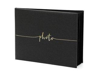 Album na zdjęcia - 24 x 18,5 cm - czarny - 22 kartki