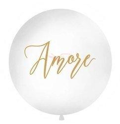 Balon 1 m - Amore - biały