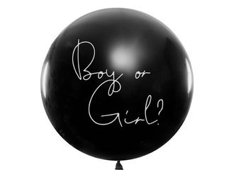 Balon Gender Reveal - Chłopiec - 1 m