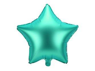 Balon foliowy Gwiazdka - 48 cm - zielony