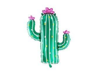 Balon foliowy Kaktus - 60 x 82 cm