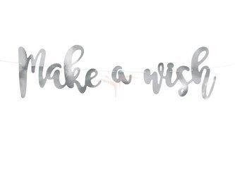 Baner Jednorożec - Make a wish - 15 x 60 cm
