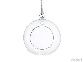 Kule szklane - świeczniki - 10cm - 4 szt.