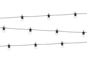 Lampki dekoracyjne LED - 5 m - czarny