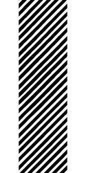 Papier do pakowania - 68,5 x 100 cm - czarne paski