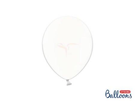 Balony Strong 23 cm - Crystal Clear - 100 szt.