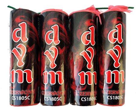 FONTANNY DYMNE – Czerwone - Lontowe - CS1805C - Surex - 4 szt.