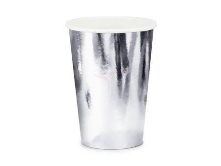 Kubeczki srebrne 220 ml - 6 szt.