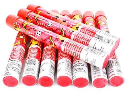 ZESTAW 10 x FLARA – Czerwona - Lontowa - TXF313-1 - Triplex